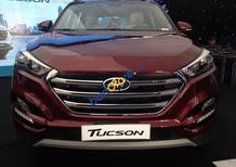 Bán Hyundai Tucson 1.6L Turbo sản xuất 2017, màu đỏ, 882tr