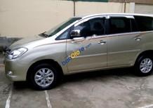 Cần bán gấp Toyota Innova G đời 2010, màu vàng, giá chỉ 405 triệu