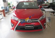 Bán Toyota Yaris năm sản xuất 2017, màu đỏ, nhập khẩu nguyên chiếc