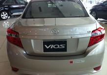 Bán Toyota Vios 1.5 E AT 2017, giá 525tr Hỗ trợ trả góp lên tới 85%