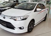 Bán xe Toyota Vios 1.5 số sàn 2017, màu xanh lục, 500 triệu, hỗ trợ trả góp lên tới  85%