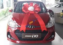 Cần bán xe Hyundai Grand i10 MT năm 2017, màu đỏ, giá 380tr