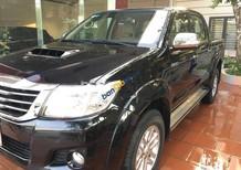 Cần bán lại xe Toyota Hilux 2.5 2015, màu đen, Nhập khẩu Thái như mới