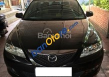Cần bán Mazda 6 sản xuất 2004, màu đen như mới