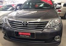Toyota Fortuner 2.7V 2014, màu xám, giá chỉ 800 triệu, hỗ trợ 70%