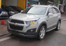 Bán Chevrolet Captiva LTZ sản xuất 2014, màu bạc, 595 triệu