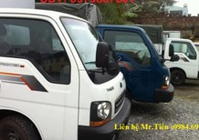 Xe tải K2700 tải 1,25 tấn thùng bạt, thùng kín liên hệ 0984694366 hỗ trợ trả góp