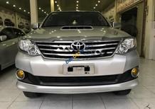 Cần bán lại xe Toyota Fortuner đời 2013, màu bạc giá cạnh tranh