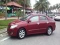 Bán xe Toyota Corolla altis đời 2009, màu đỏ, xe nhập, số tự động