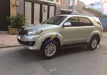 Cần bán Toyota Fortuner 2.7V 4x2 AT đời 2014, màu bạc