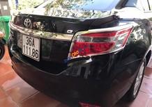 Cần bán lại xe Toyota Vios 1.5G đời 2014, màu đen chính chủ giá cạnh tranh