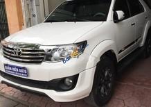 Bán ô tô Toyota Fortuner TRD Sportivo 4x2 AT đời 2015, màu trắng số tự động, giá tốt