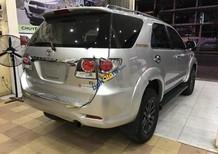 Cần bán gấp Toyota Fortuner đời 2014, màu bạc giá cạnh tranh