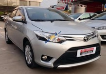 Cần bán xe Toyota Vios 1.5G đời 2015, màu bạc số tự động, giá chỉ 535 triệu