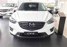 Bán xe Mazda CX 5 2.5 2WD, đầu tư 160tr sở hữu ngay 2017, màu trắng, giá 840tr