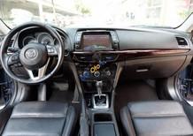 Cần bán lại xe Mazda 6 2.0 đời 2015, màu xanh lam giá cạnh tranh