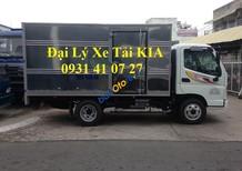 Xe tải Thaco Ollin 345 tải trọng 2.4 tấn thùng kín mở 1 cửa hông, hỗ trợ trả góp lên đến 75%