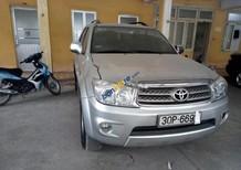 Cần bán xe Toyota Fortuner 2.5G 2010, màu bạc số sàn