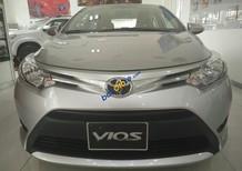 Bán Toyota Vios 1.5E MT 2017, hỗ trợ vay 95% giá trị xe
