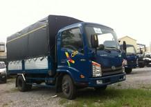Cần bán Hyundai Veam VT252-1 trọng tải 2,4 tấn thùng dài 4m1 đời 2017, màu xanh lam