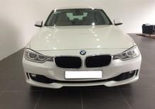 Bán xe BMW 320i đăng kí 2014, màu trắng, chính chủ, được bảo dưỡng định kì tại hãng