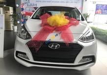 Hyundai Grand i10 sản xuất 2017, màu trắng, xe nhập, hỗ trợ Grab, vay vốn lên đến 85%, Lh 0902965732 - Hữu Hân