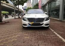 Cần bán ô tô Mercedes Benz S500L, màu trắng