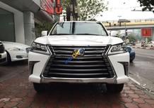 Bán Lexus LX 570 sản xuất 2017, màu trắng, nhập khẩu nguyên chiếc giá tốt. LH: 0948.256.912