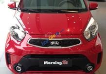 Bán xe Kia Morning đời 2018, màu đỏ, giá 375tr