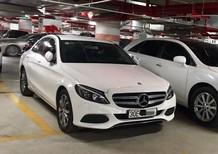Bán Mercedes C200 đời 2016, màu trắng, như mới