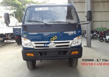 Bán xe Ben Thaco FD9000 tải 8.7 tấn, xe tải thùng 7 khối/ giá xe Ben 9 tấn Thaco Forland FD9000