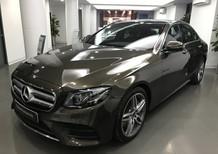 Cần bán gấp Mercedes E300 AMG đời 2017, màu nâu, đã đi 6732 km