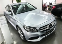 Cần bán xe Mercedes C200 đời 2017, màu bạc giá rẻ