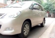 Cần bán gấp Toyota Innova 2.0G 2011, màu ghi vàng, 396tr