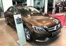 Bán Mercedes C200 2017 màu nâu chạy lướt giá rẻ