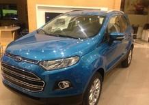 Cần bán Ford EcoSport 1.5 titanium 2017, màu xanh lam, 560 triệu
