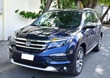 Bán ô tô Honda Pilot sản xuất 2015, màu xanh lam, xe nhập