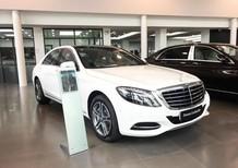 Bán xe Mercedes S400 2017, màu trắng như mới giá cực rẻ