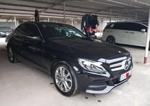 Bán xe Mercedes C200 đời 2015, màu đen xe nguyên bản còn như mới
