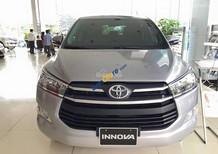 Toyota Innova 2.0E đời 2017, màu bạc, hỗ trợ trả góp 80%, mua xe chỉ với 190 triệu