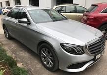 Bán xe Mercedes E200 2017, màu bạc chạy lướt 7.550km, như mới giá cực rẻ