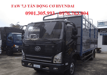 Xe tải máy Hyundai 7 tấn 3 giá rẻ/ xe tải Faw máy Hyundai giá rẻ