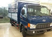 Bán xe Thaco HD650 thùng bạt, màu xanh lam
