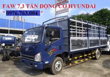 Xe tải Faw 7 tấn 3 mấy Hyundai nhập khẩu giá rẻ miền nam/ xe tải 7 tấn hỗ trợ vay cao