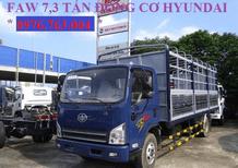 Xe tải 7 tấn thùng mui bạt, máy Hyundai giá rẻ/ xe tải 7 tấn giá rẻ