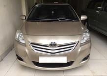 Cần bán xe Toyota Vios 1.5 E 2010, màu vàng, 290 triệu