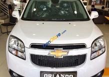 Cần bán xe Chevrolet Orlando 1.8 LTZ đời 2017, màu trắng