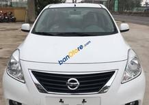 Cơ hội vàng mua ô tô giá rẻ Nissan Sunny số sàn, màu trắng, hỗ trợ trả góp và làm giấy tờ xe