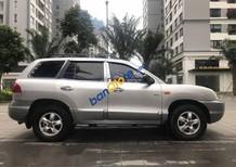 Bán ô tô Hyundai Santa Fe AT đời 2008, màu bạc số tự động