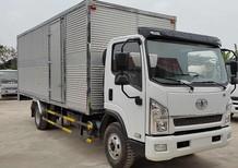Bán xe FAW xe tải thùng đời 2017, màu trắng, 585tr
